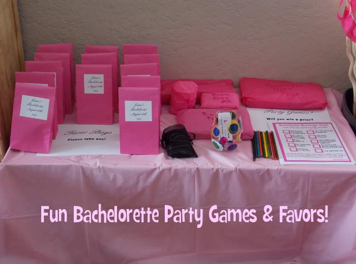 Fun Bachelorette Party Games Favors