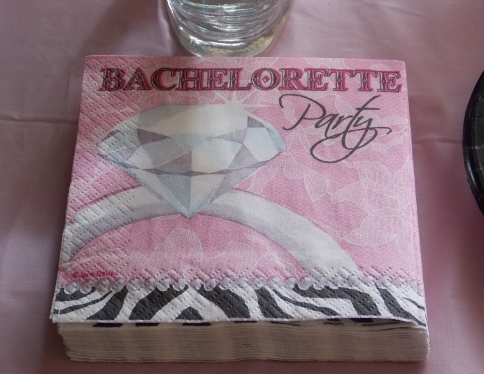 Bachelorette Party Napkins