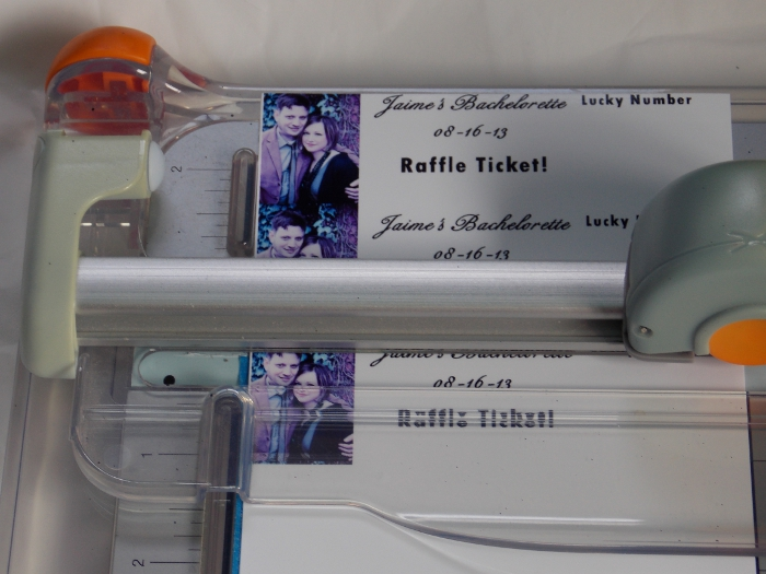 Bachelorette Party Game Ideas: Raffle Tickets - Blog My Wedding