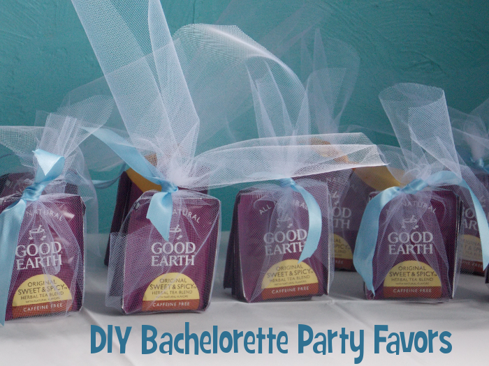 Diy Bachelorette Party Favors Tea Bag Craft How To Blog