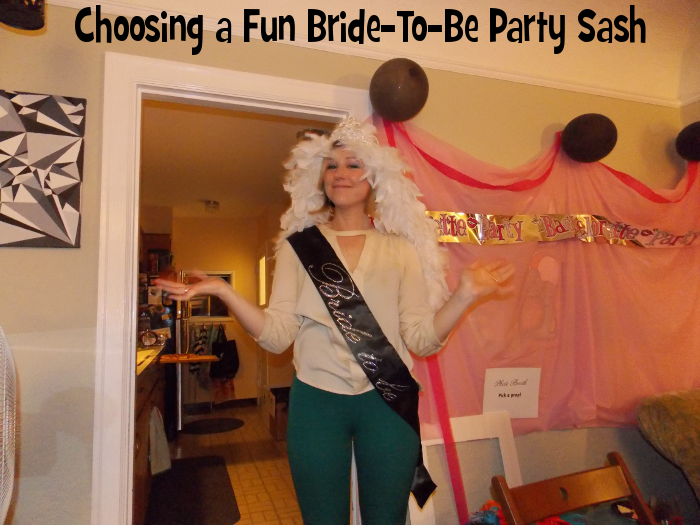Choosing a Fun Bride-To-Be Party Sash