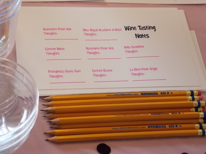 Wine Tasting Cards