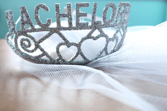 Bachelorette Party Tiara With Veil