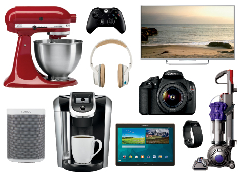 Examples of what you can put on your Best Buy Wedding Registry